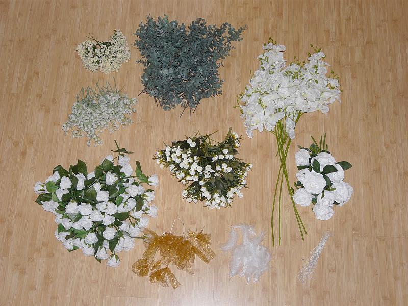 Květiny na květinové dekorace - Obrázek č. 1