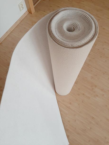 Svatební koberec bílý, 10 m - Obrázek č. 1
