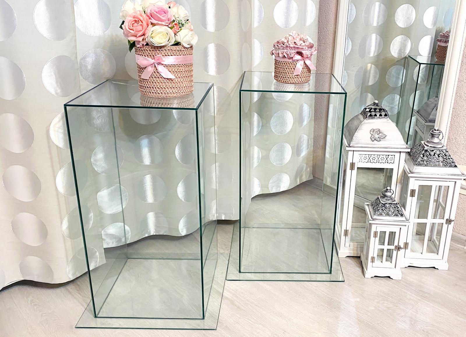 Predám sklenené boxy vyrobené na mieru :) Vhodné na svadbu - Obrázok č. 3