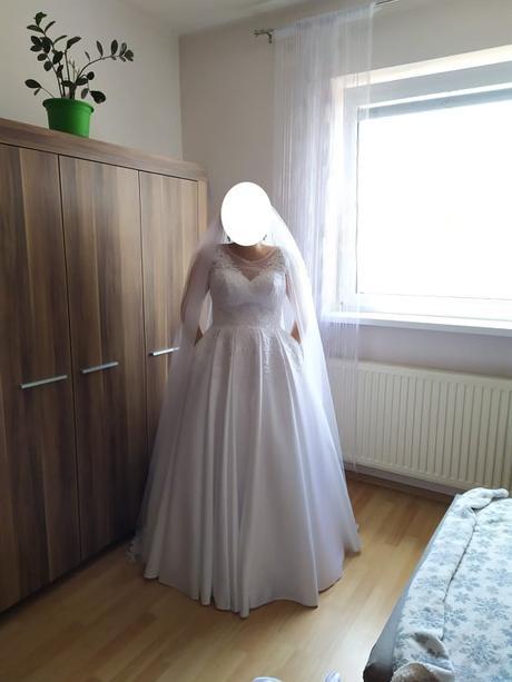 Svadobné šaty - biele - Obrázok č. 2
