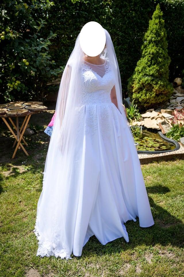 Svadobné šaty - biele - Obrázok č. 4