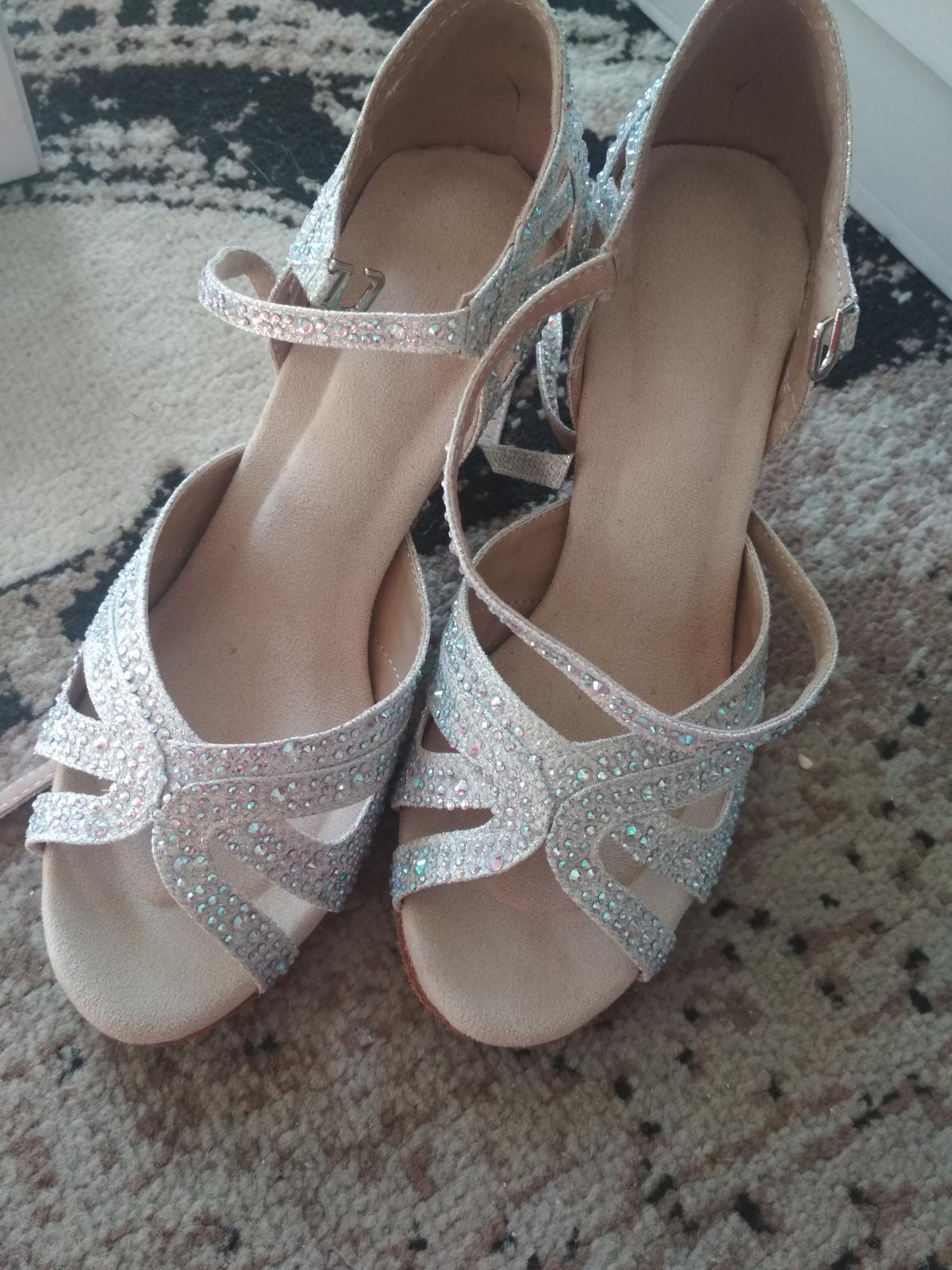 svadobné topánky 34 - Obrázok č. 1