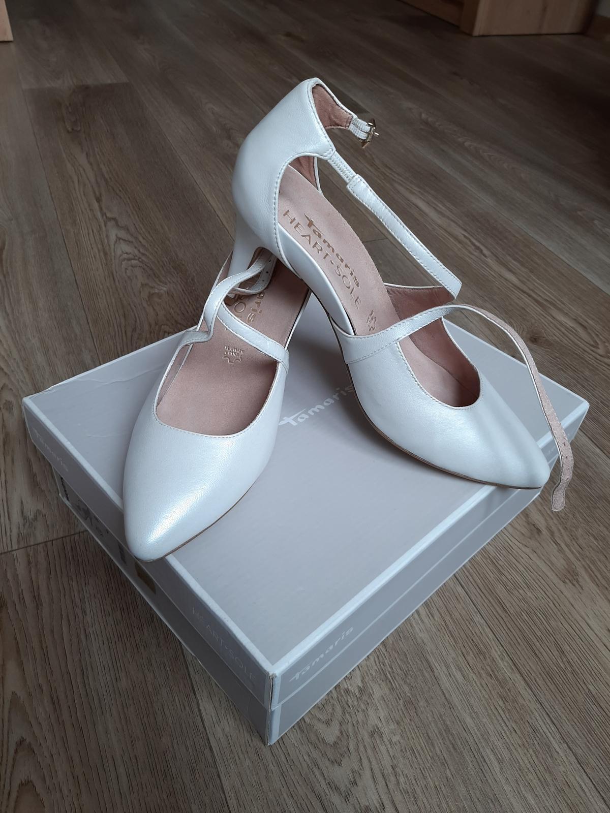 Svatební boty Tamaris, vel. 40 - Obrázek č. 1