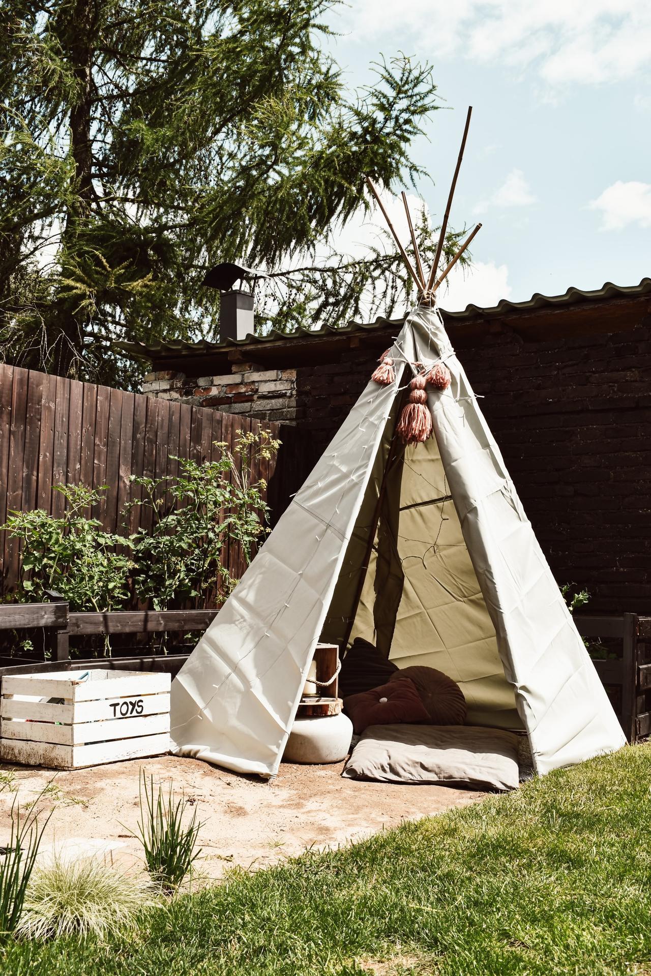 Teepeečko, úkryt na léto pro děti - Obrázek č. 1