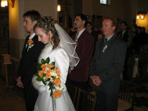 V kostole s našimi svedkami