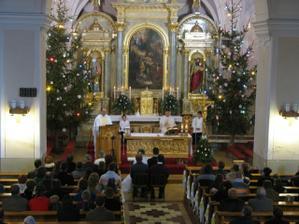 Vianocná svadba v Rajeckom kostole