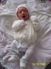 Nase Kvietko vonave - narodilo sa 8.10.2008 - je nasim imanim najvzacnejsim, ktore sme si priniesli do noveho domceka