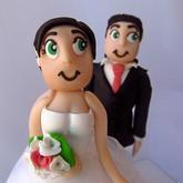 Naše figurky na dort