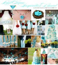 Tiffany blue kolaz