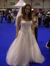 Veromia dress £895 Ivory