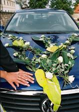 autíčko pro nevěstu...