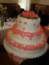 svatební dortík