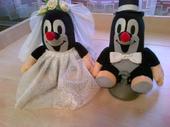 Krtci pro nevěstu a ženicha,
