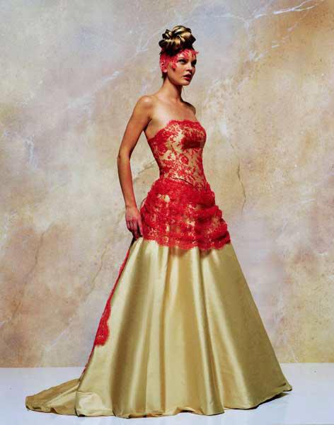 Svatební šaty - růžové i červené až do bordó - Obrázek č. 512