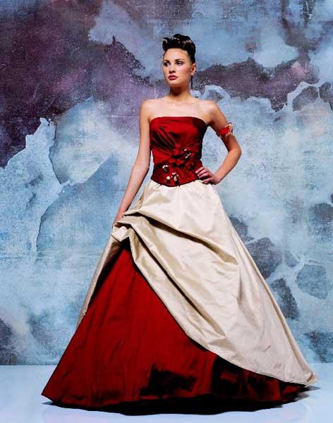 Krááásne červeno-biele šaty - Obrázok č. 2
