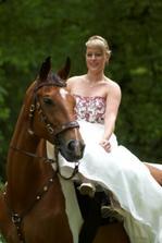 Svatba na koni byl můj sen....