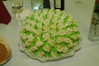 výborná torta s ešte lepším marcipánom