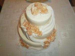 hlavná torta od Ivky