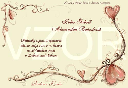 Inšpirácie pri príprave svadby - také srdiečkové :)