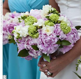 N&M a nase sny - takto nejako bude vyzerat svadobna kytica :)