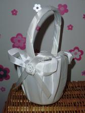 košíček pre dievčatko na rozhadzovanie lupienkov