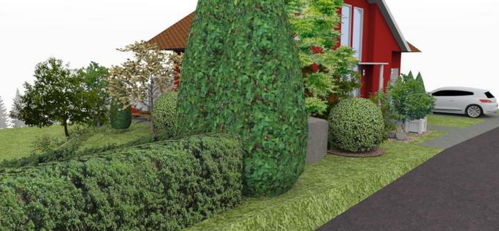 jankobrunko - Návrh rodinnej záhrady. Tvrdošín.
