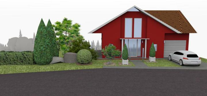 jankobrunko - Vizualizácia návrhu záhrady. Tvrdošín.