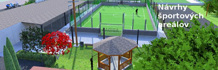 jankobrunko - Štúdia multifunkčného športového areálu.