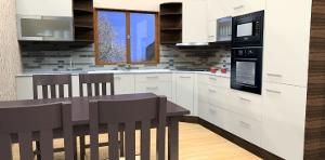 jankobrunko - 3D vizualizácia kuchyne. Zuberec.