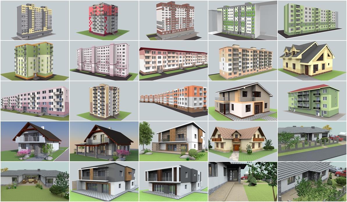 jankobrunko - Vyber navrhov fasad roku 2013