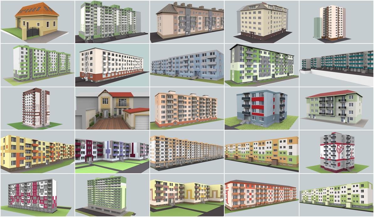 jankobrunko - Vyber navrhov fasad roku 2013 cast 2