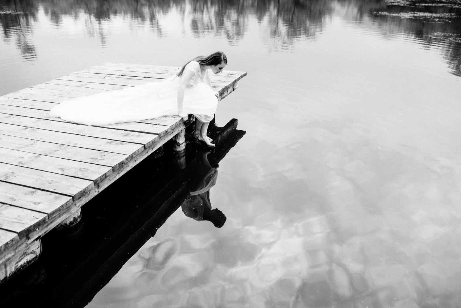 Večer na párnických jazerách - Obrázok č. 17