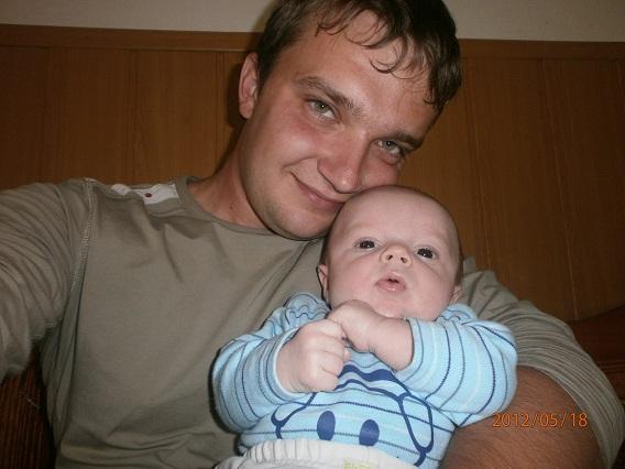 Ivana Dudičová{{_AND_}}Milan Didič - A tu už je manžel s našim synáčikom, ktorého sme spravili na svadobnej ceste v Bulhársku :D
