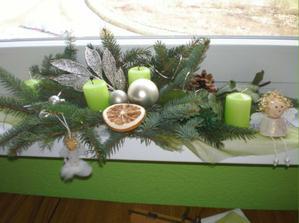 Vianočna ozdobka v kuchyni