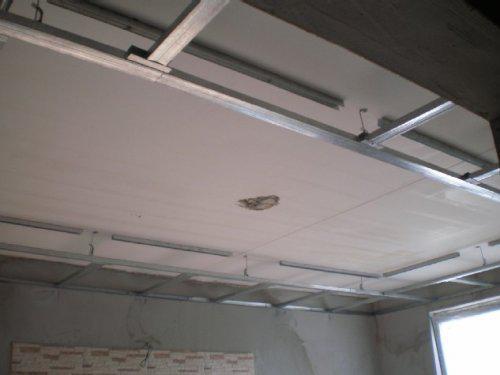 Takto to prebieha u nas - Znižujeme strop v obyvačke s podhľadom