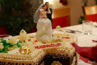 svadobne tortičky