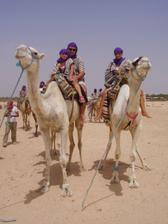 svadobná cesta-Tunisko