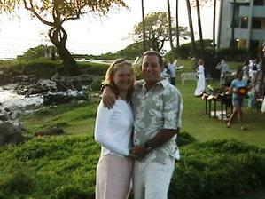 Kveten 2006, Hawaj, tady jsem byla pozadana o ruku