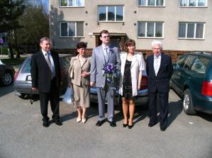 Ženich a jeho rodina/ Groom and his family