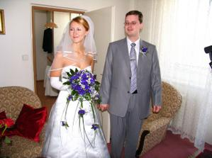 První pohled na nevěstu/ First look at the bride