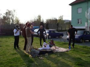 Piknik na svatbě/ Wedding picnic