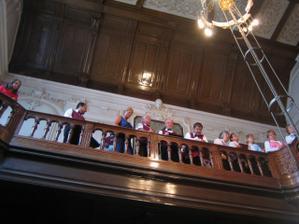pěvecký sbor na obřadě