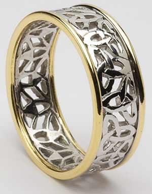 Kraaasne snubne prstene a saty pre inspiraciu - keltske prstene..