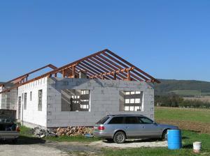 krov na malej streche hotovy