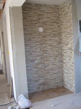 2013 - obklad stena + omietky
