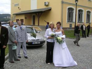 s Dášikem..moje svědkyně;o)