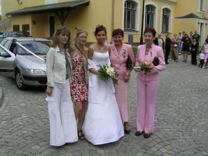 s Ráďou,Bárou, tetou a maminkou