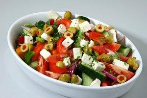saláty na večer