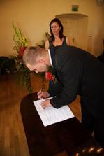 Prvni podpis - zenich
