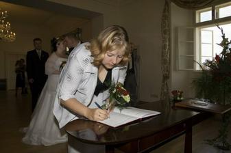 Treti podpis - svedkyne Peta